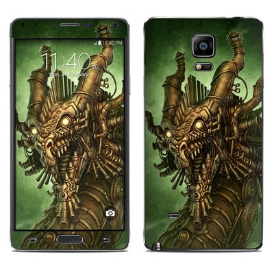 Samsung Galaxy Note 4 Skin - Steampunk Dragon