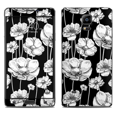 Samsung Galaxy Note 4 Skin - Striped Blooms