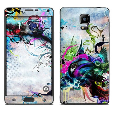 Samsung Galaxy Note 4 Skin - Streaming Eye