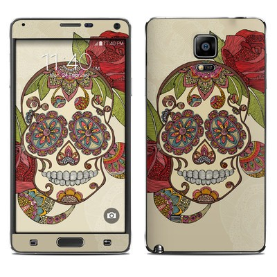 Samsung Galaxy Note 4 Skin - Sugar Skull
