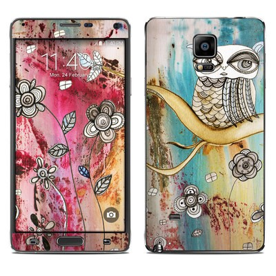 Samsung Galaxy Note 4 Skin - Surreal Owl