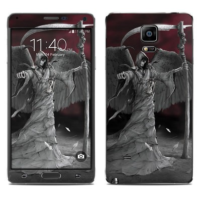 Samsung Galaxy Note 4 Skin - Time is Up