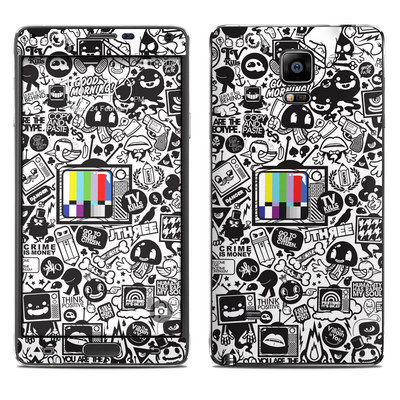 Samsung Galaxy Note 4 Skin - TV Kills Everything