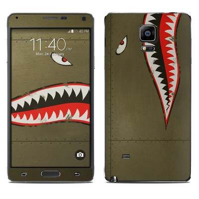 Samsung Galaxy Note 4 Skin - USAF Shark
