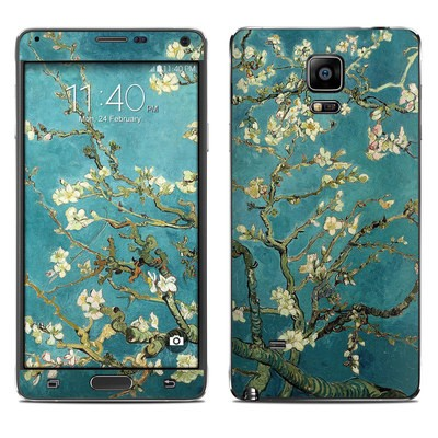 Samsung Galaxy Note 4 Skin - Blossoming Almond Tree
