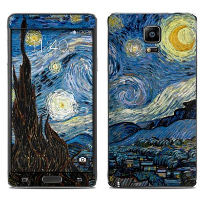 Samsung Galaxy Note 4 Skin - Starry Night