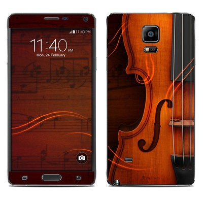 Samsung Galaxy Note 4 Skin - Violin