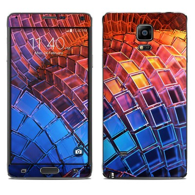 Samsung Galaxy Note 4 Skin - Waveform