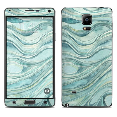 Samsung Galaxy Note 4 Skin - Waves