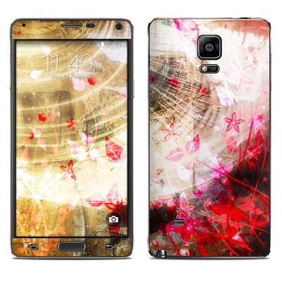 Samsung Galaxy Note 4 Skin - Woodflower