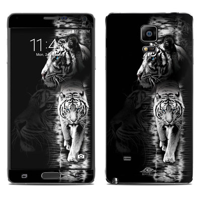 Samsung Galaxy Note 4 Skin - White Tiger
