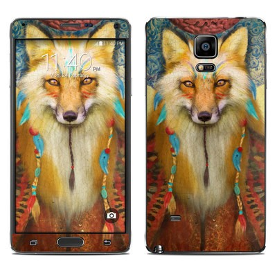 Samsung Galaxy Note 4 Skin - Wise Fox