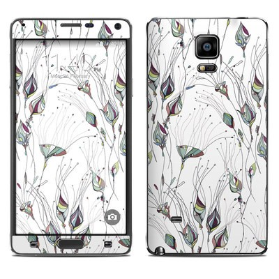 Samsung Galaxy Note 4 Skin - Wildflowers