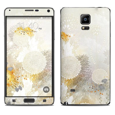 Samsung Galaxy Note 4 Skin - White Velvet