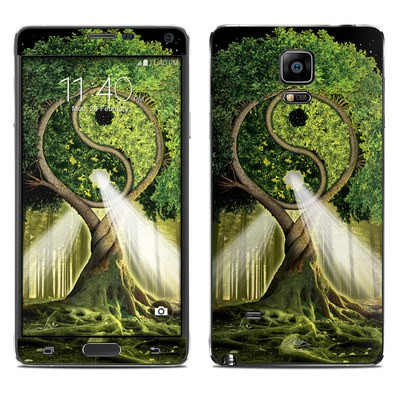 Samsung Galaxy Note 4 Skin - Yin Yang Tree