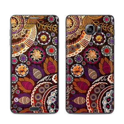 Samsung Galaxy Note 5 Skin - Autumn Mehndi