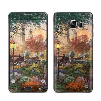 Samsung Galaxy Note 5 Skin - Autumn in New York