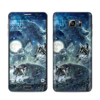 Samsung Galaxy Note 5 Skin - Bark At The Moon