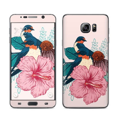 Samsung Galaxy Note 5 Skin - Barn Swallows