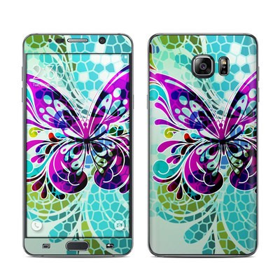 Samsung Galaxy Note 5 Skin - Butterfly Glass