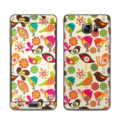Samsung Galaxy Note 5 Skin - Bird Flowers