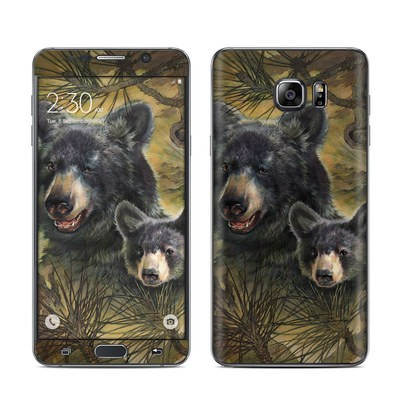 Samsung Galaxy Note 5 Skin - Black Bears