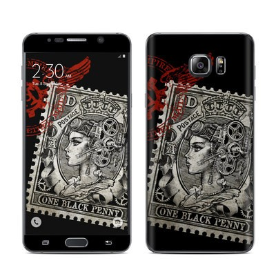 Samsung Galaxy Note 5 Skin - Black Penny