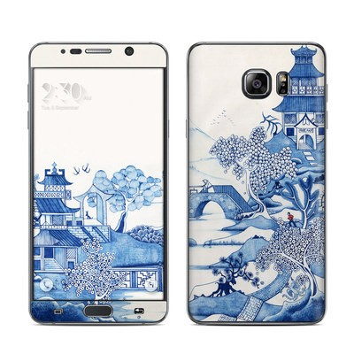 Samsung Galaxy Note 5 Skin - Blue Willow