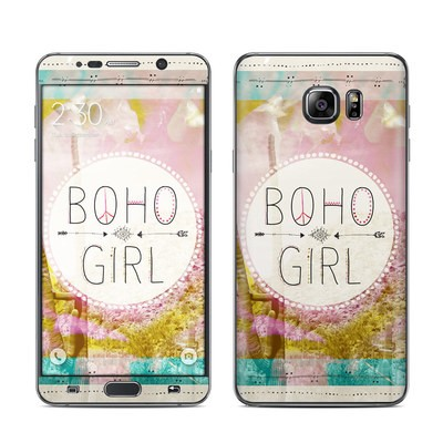 Samsung Galaxy Note 5 Skin - Boho Girl