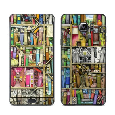 Samsung Galaxy Note 5 Skin - Bookshelf