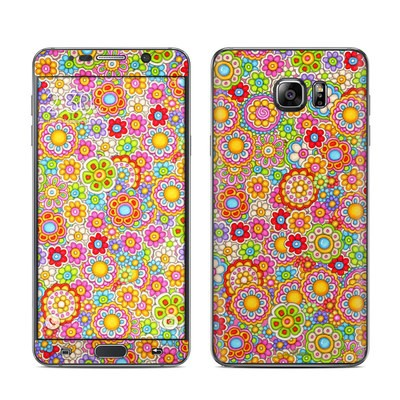 Samsung Galaxy Note 5 Skin - Bright Ditzy