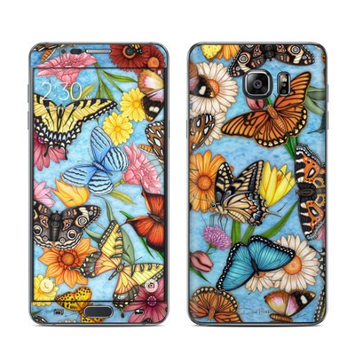 Samsung Galaxy Note 5 Skin - Butterfly Land
