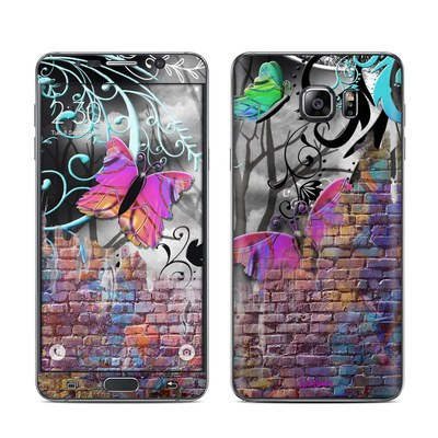 Samsung Galaxy Note 5 Skin - Butterfly Wall