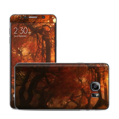 Samsung Galaxy Note 5 Skin - Canopy Creek Autumn