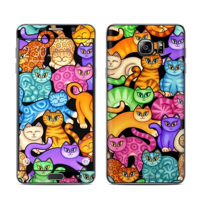 Samsung Galaxy Note 5 Skin - Colorful Kittens