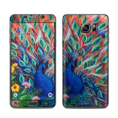 Samsung Galaxy Note 5 Skin - Coral Peacock