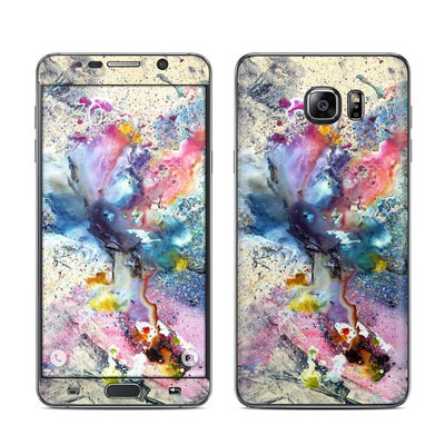 Samsung Galaxy Note 5 Skin - Cosmic Flower