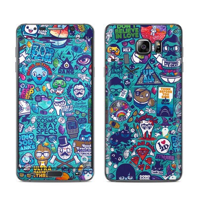 Samsung Galaxy Note 5 Skin - Cosmic Ray