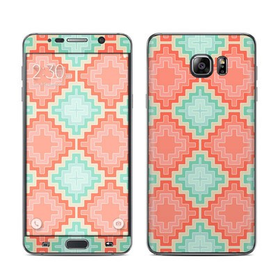 Samsung Galaxy Note 5 Skin - Coral Diamond