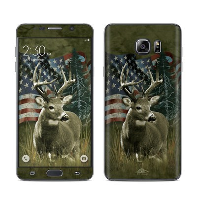 Samsung Galaxy Note 5 Skin - Deer Flag