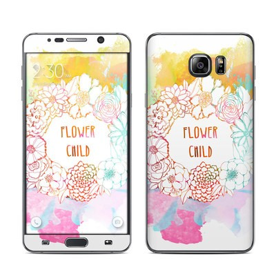 Samsung Galaxy Note 5 Skin - Flower Child