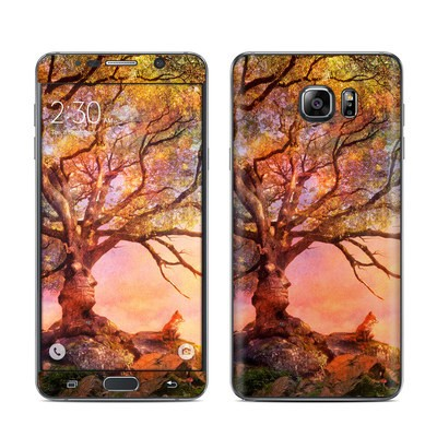 Samsung Galaxy Note 5 Skin - Fox Sunset