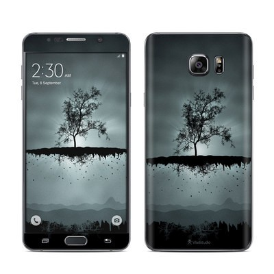 Samsung Galaxy Note 5 Skin - Flying Tree Black