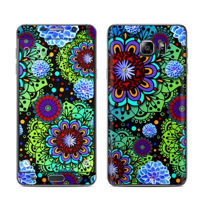 Samsung Galaxy Note 5 Skin - Funky Floratopia