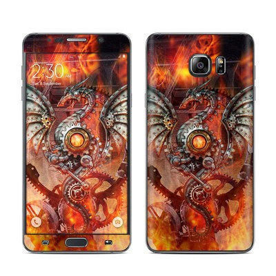Samsung Galaxy Note 5 Skin - Furnace Dragon