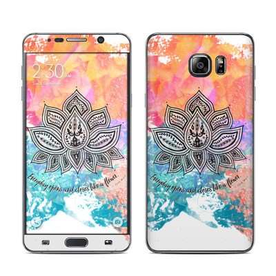 Samsung Galaxy Note 5 Skin - Happy Lotus