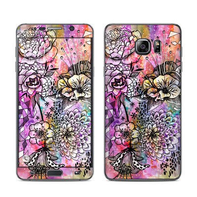 Samsung Galaxy Note 5 Skin - Hot House Flowers