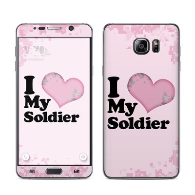 Samsung Galaxy Note 5 Skin - I Love My Soldier
