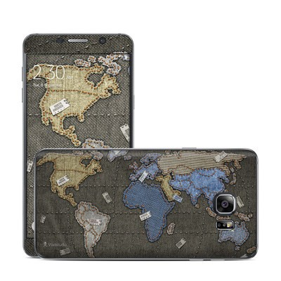 Samsung Galaxy Note 5 Skin - Jean Map