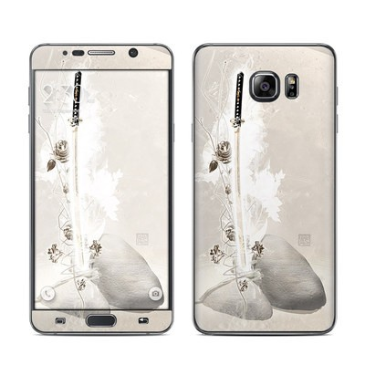Samsung Galaxy Note 5 Skin - Katana Gold